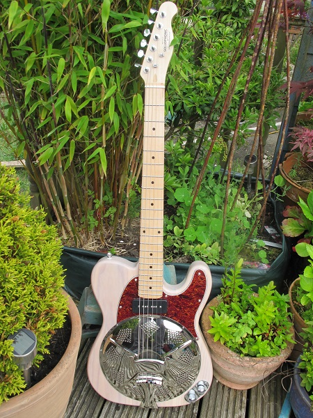 Cream Ash, Maple Neck, Soapbar P90, Red Torty Guard